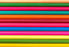 Multicolour pencils set  on a white background. Colour pencils set  on a white background, color pencils shavings Royalty Free Stock Images
