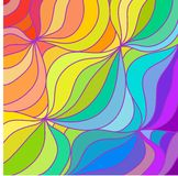Multicolour rainbow lines background. vector illustration Stock Photo
