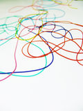 Multicolour string Royalty Free Stock Image