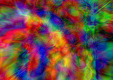 Multicoloured abstract background. A multi coloured abstract background royalty free illustration