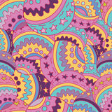 Multicoloured abstract seamless pattern Stock Image