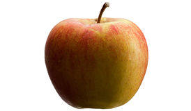 Multicoloured apple. Royalty Free Stock Photography