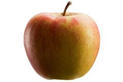 Multicoloured apple Stock Image