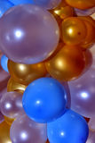 Multicoloured balloons. Background with the image of multicoloured balloons Royalty Free Stock Photos