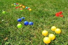 Multicoloured balls Stock Photo
