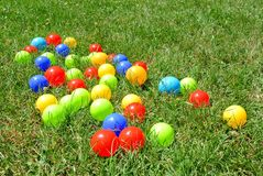 Multicoloured balls Royalty Free Stock Images