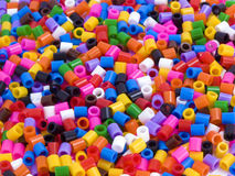 Multicoloured Beads Background Royalty Free Stock Images