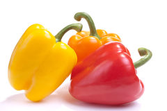 Multicoloured Bell Peppers Royalty Free Stock Image