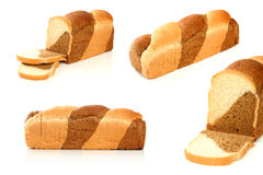 Multicoloured bread stock photo