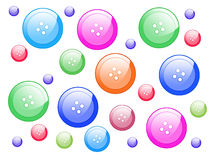Multicoloured buttons Royalty Free Stock Photo