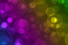 Multicoloured circles Stock Photos