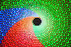 Multicoloured domes. The colorful dome that is full of figure of Buddha Royalty Free Stock Image