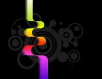 Multicoloured lint Royalty-vrije Stock Afbeeldingen