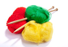 Multicoloured mohair Royalty Free Stock Image