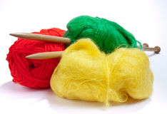 Multicoloured Mohair Royalty Free Stock Photo