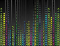 Multicoloured neon background royalty free stock photo