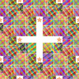 Multicoloured patterned texture Royalty Free Stock Images