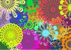 Multicoloured Patterns Stock Photos