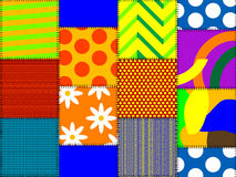 Multicoloured rags Royalty Free Stock Images