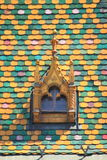 Multicoloured roof in Budapest Royalty Free Stock Photos