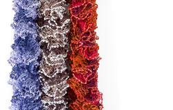 Multicoloured Scarves Stock Image