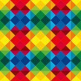 Multicoloured Seamless geometric pattern, Stock Photography