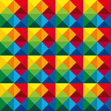 Multicoloured Seamless geometric pattern,  Royalty Free Stock Photo