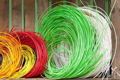 Multicoloured string Royalty Free Stock Image