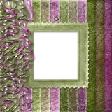 Multicoloured striped background Stock Images