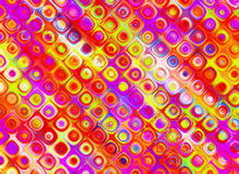 Multicoloured summer backgrounds of glass wall Stock Image