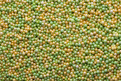 Multicoloured sweet sugar balls. Small ball pattern. Stock Images