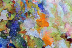 The multicoloured texture Stock Images