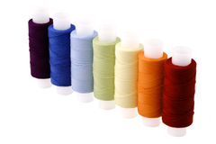 Multicoloured threads Royalty Free Stock Photography