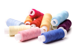 Multicoloured threads Stock Images