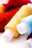 Multicoloured threads Stock Photo