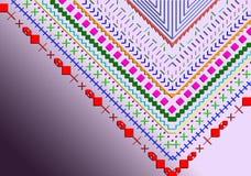 Multicoloured V Obrazy Royalty Free