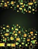 Multicoloured vierkanten Royalty-vrije Stock Afbeelding