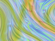 Multicoloured wavy curves(1) Royalty Free Stock Photos