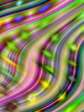 Multicoloured wavy curves(5) Royalty Free Stock Photos