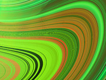 Multicoloured wavy curves(6) Stock Photos