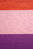 Multicoloured Wooden Wall Royalty Free Stock Image