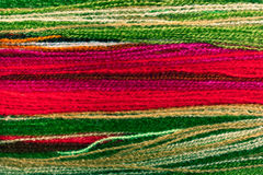 Multicoloured yarn background Royalty Free Stock Photos