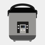 Multicooker ikona Obrazy Royalty Free