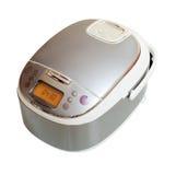 Multicooker sobre o fundo branco Imagem de Stock