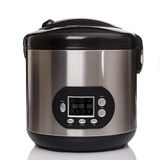 Multicooker on white backgound Royalty Free Stock Photography