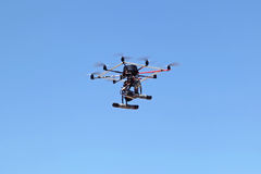 Multicopter camera Royalty Free Stock Photos