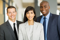Multicultural business executive Royalty Free Stock Photo