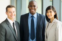 Multicultural business executives Stock Photos