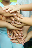 Multicultural hands Royalty Free Stock Photography