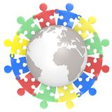 Multicultural. Royalty Free Stock Image
